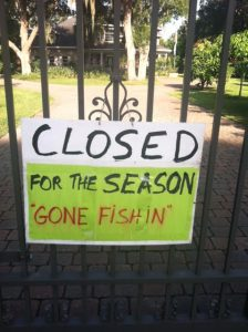 Four Lions is closed for the season